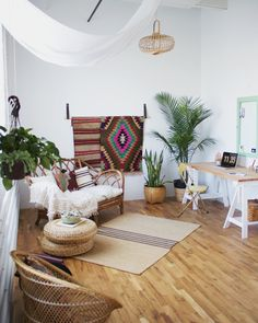 Beau Foxtail + Moss Boho Studio   Centered By Design