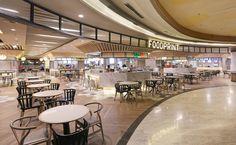 Foodcourt at Grand Indonesia, Jakarta Interior Design Awards, Retail Interior, Restaurant Interior Design, Commercial Interior Design, Cafe Interior, Commercial Interiors, Interior Design Inspiration, Food Court Design, Cafeteria Design