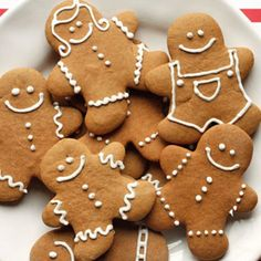 """For Making Cuneiform Cookies.great """"clay tablet"""" - Eat your way through HISTORY! These holiday gingerbread cookies have less than half of the fat than most gingerbread man cookies but the same great flavor and are super easy to make! Holiday Desserts, Holiday Treats, Christmas Treats, Christmas Baking, Christmas Recipes, Holiday Baking, Holiday Parties, Holiday Recipes, Ginger Bread Cookies Recipe"""