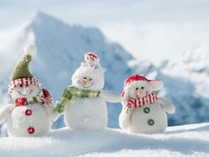 Christmas Snow Desktop Wallpapers