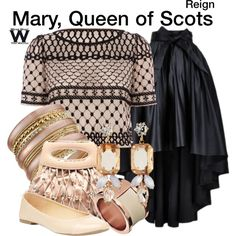 Inspired by Adelaide Kane as Mary, Queen of Scots on Regin.