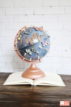 Hi there, it's Gina here and I am so excited to share my globe gallery project with you. The designer globes in this collection are great for accessorizing any space. I received the constellation globe and as soon as I.