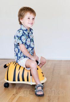 Køb Skubber Wheely Bug Tiger - Stor - Fra 3 år. online - Wheely Bug