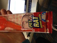 Pet Rat gummi candy #tobedesigned
