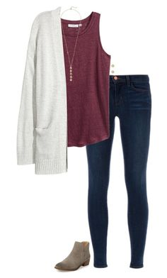 """""""{my last set only got five likes}"""" by southerngirl03 ❤ liked on Polyvore featuring J Brand, H&M, Kofta, Splendid, Cole Haan and Kate Spade"""