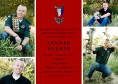 eagle scout court of honor invitation or by katiedidesigns on Etsy, $13.00