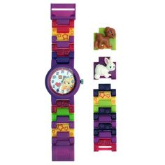 Lego Friends Watch - Purple Stephanie - http://www.watchesandstuff.com/lego-friends-watch-purple-stephanie/