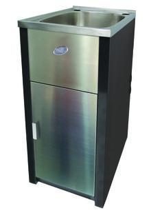 70110 Excellence Bold Mini Laundry Unit with 30L Square Bowl_2 - Option 1