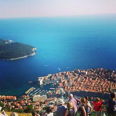 Fantastic view over Dubrovnik