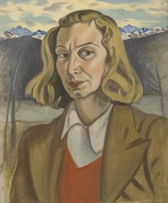 1939 Self-Portrait (Wanaka), by New Zealand painter Rita Angus Tamara Lempicka, Selfies, New Zealand Art, Jr Art, New Artists, Portrait Art, Female Art, Art History, Illustration Art