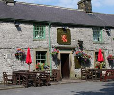 The Red Lion in Litton, Derbyshire. Bursting with character, great food and proper ale.