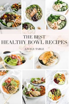 Healthy Bowl, Healthy Grains, Healthy Meal Prep, Healthy Breakfast Recipes, Healthy Recipes, Veggie Bowl Recipe, Lunch Bowl Recipe, Yummy Vegetable Recipes, Lunches And Dinners