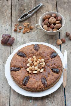 Ricetta Torta morbida di datteri e cioccolato - Labna