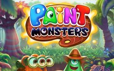 #PaintMonsters: This #game is dripping in colorful, #free #fun! #PuzzleGames #iPhone #Android #iOS #gaming #SGN