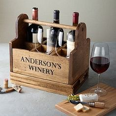 Carries and displays 6 wine glasses or bottles. Solid wood cheese board stores in the base. Comes with waiter's corkscrew. Perfect for taking the party outside or carrying bottles up from your wine room. Made from solid Oak.