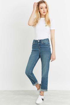 BDG Mid-Rise Blue Boy Jeans