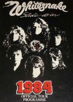 Whitesnake Tour Program https://www.facebook.com/FromTheWaybackMachine
