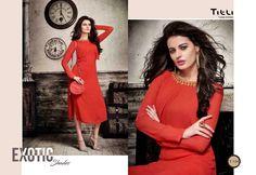Titli PREMIUM GEORGETTE  kurti CATALOG  http://www.jhumarlalgandhi.com/portfolio/titli-premium-georgette-kurti-catalog/ Contact on +919712677711