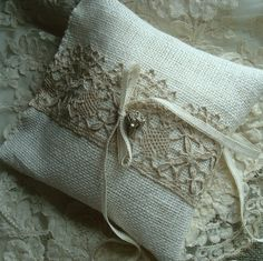 Ring Bearer Pillow.  You can keep it and reuse it.