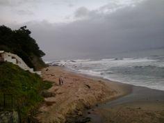 Playa Cocholgüe en Cocholgüe, Biobío