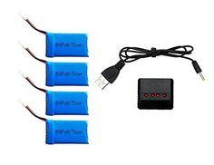 Creation® cheerson Cx-30w Wifi controlado reemplazo Rc Quadcopter Repuestos 3.7v 700mah batería (4 piezas) y la actualización del USB 4 en 1 cargador (1pc) - http://www.midronepro.com/producto/creation-cheerson-cx-30w-wifi-controlado-reemplazo-rc-quadcopter-repuestos-3-7v-700mah-bateria-4-piezas-y-la-actualizacion-del-usb-4-en-1-cargador-1pc/