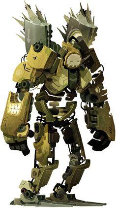 World War Weird Robot the Etherington Brothers