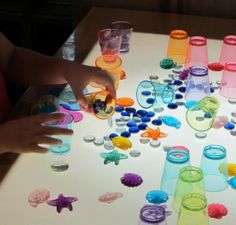 LIGHT TABLE SORTING AND MATCHING