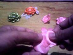 Tutorial gardenia/roseburn/mawar bakar dari satin