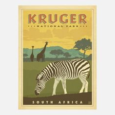 Kruger National Park Print, $29, now featured on Fab.
