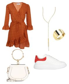 """""""Summer"""" by fionameehan on Polyvore featuring Faithfull, Alexander McQueen, Lana, Edge of Ember and Chloé"""