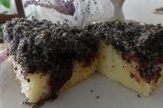 Jak upéct švestkový koláč s makovou drobenkou | recept