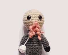 Doctor Who Ood amigurumi by twimoon on Etsy, $20.00