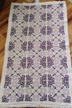 Hand Embroidery Design Patterns, Pattern Design, Cross Stitch, Crochet, Projects, Punto De Cruz, Hardanger, Rugs, Tejidos