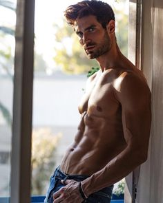 """phfantasists: """"Lucas Bloms by Blake Ballard """" The Weather Man, Christian Hogue, Handsome Male Models, Shirtless Male Models, Thing 1, Muscular Men, Attractive Men, Male Body, New Image"""