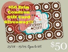 It's My Party: $50 Erin Condren Gift Card Giveaway! #eclifeplanner #fabfans #ecbloggers