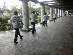 ACADEMIA DE KUNG FU WUSHU NO YOUTUBE - A.K.W.A.G: Tai Chi na Praça da Saudade com os Idosos, sexta-f...