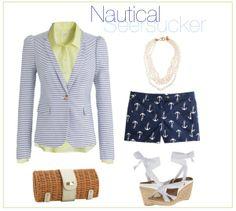 Nautical Seersucker