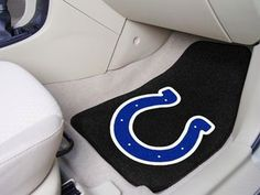 "NFL - Indianapolis Colts 2-pc Carpet Car Mat Set 17"""" X 27"""""