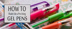 Gel Pens Shading like a pro Coloring Pages To Print, Adult Coloring Pages, Coloring Tips, Coloring Books, How To Shade, Coloring Tutorial, Colouring Techniques, Color Pencil Art, Baby Oil