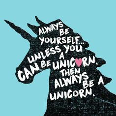 "Always Be a Unicorn 12"" x 12"" Vintage Metal Sign"
