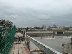 #ACProjekt14  Baustelle, Kalenderwoche 12/2016 Arbeiten am Staffelgeschoß. #Wohnungsbau #Städteregion #Aachen #Würselen #Bauleitung #Staffelgeschoß