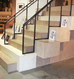 OSO Industries #steps at #powerHouse #Books! #TOWN #TOWNAZ #TOWNshowroom #TOWNstudio #interior #design #home #lifestyle #decor #interiordesign #furniture #custom #steps #stairs