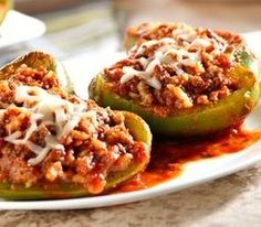 hCG Diet Recipe Phase 3 Maintenance Only- Stuffed Peppers