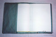 Almacén - accesorios de tela https://www.facebook.com/almacendemunecosyaccesorios Funda para cuaderno #decoración #diseño #fundascuaderno