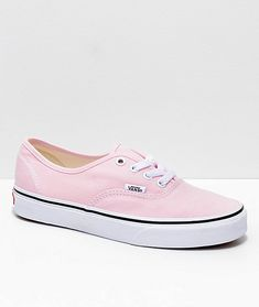 52cbefacc6eb Vans Authentic Chalk Pink   True White Shoes