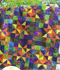 Twinkle Quilt Kit - Great outcome and 'sew' easy!!  Available in 4 different sizes