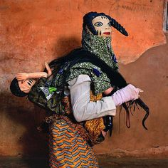 More sensational masquerade costumes of West Africa, photos by Phyllis Galembo