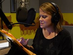 An audiobook narrator explains her process — Vox Voice Acting, The Voice, How To Find Out, How To Make Money, How To Become, Future Jobs, Earn Money From Home, Be Your Own Boss, News Website