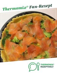 Brokkoli- Lachs- Quiche von pritinka. Ein Thermomix ® Rezept aus der Kategorie Backen herzhaft auf www.rezeptwelt.de, der Thermomix ® Community.