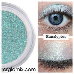 Eucalyptus Eyeshadow - Mineral Makeup | Natural Mineral Cosmetics | Vegan + Cruelty Free | ORGLAMIX.COM